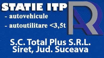 Total Plus S.R.L. - Electrica-Diagnoza Auto Siret